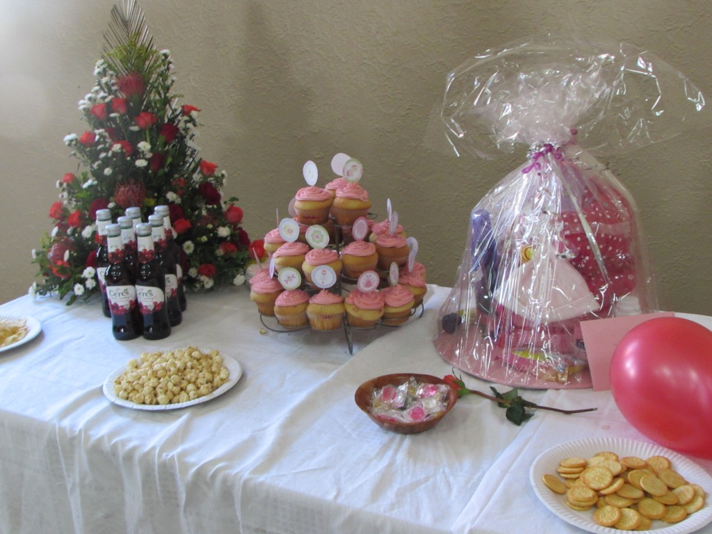 The delicious indulgent Table